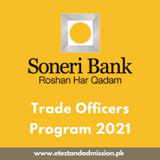 Soneri Bank Trade Officers Program 2021