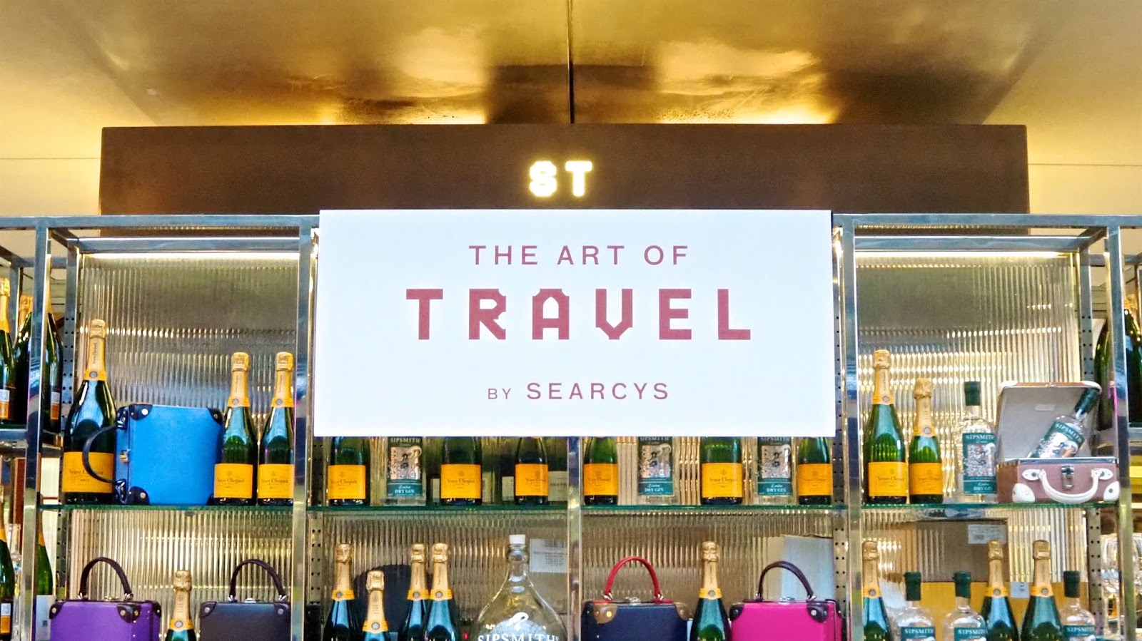 The Art of Travel - a New Pop-up at Searcy's St. Pancras
