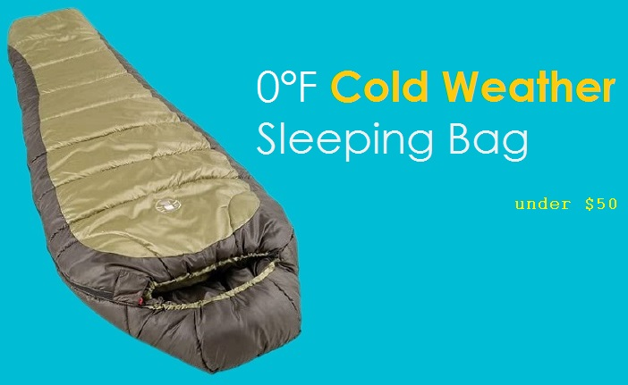 Coleman 0°F Cold Weather Sleeping Bag For Adults