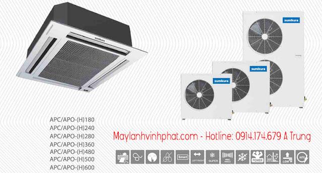 Chỉ với số lượng 02 bộ Máy lạnh âm trần Sumikura (Malaysia) đã có giá tốt