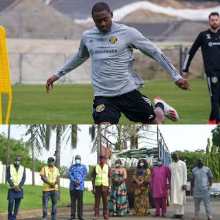 Covid-19 Palliative: Ex-Nigeria U23 star donates 2000 bags of rice to his home state