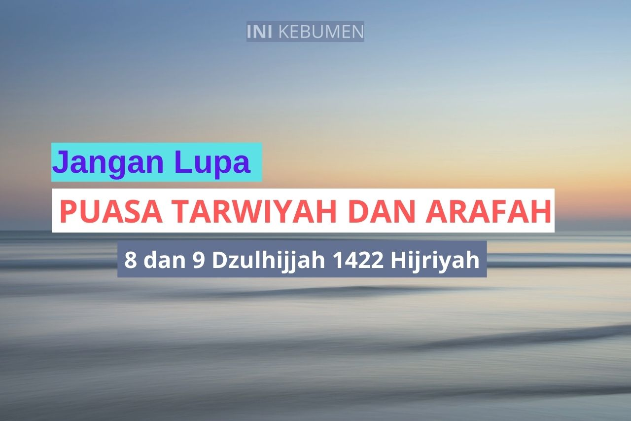 Jangan Lupa Minggu dan Senin, Puasa Tarwiyah dan Arafah 2021