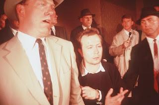JFK Gary Oldman Lee Harvey Oswald shot recreation
