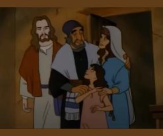 Jesus e a família de jairo
