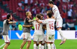 موعد مباراة الدنمارك والتشيك  ببطولة يورو 2020.