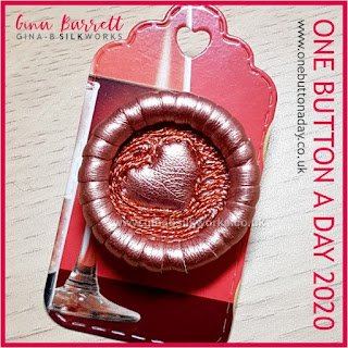 One Button a Day 2020 by Gina Barrett - Day 62: Anniversary