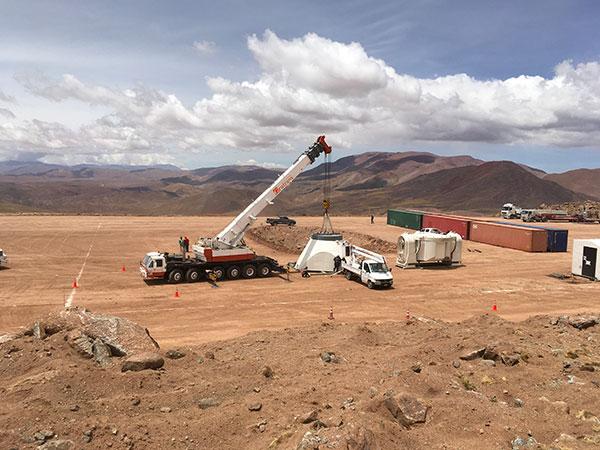 Proyecto Llama: Un hito en la cooperación científica argentino-brasileña LLAMA_G1