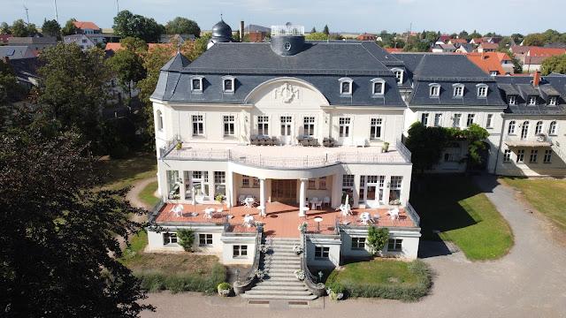 Das Hotel Schloss Teutschenthal in Teutschenthal (Sachsen Anhalt)