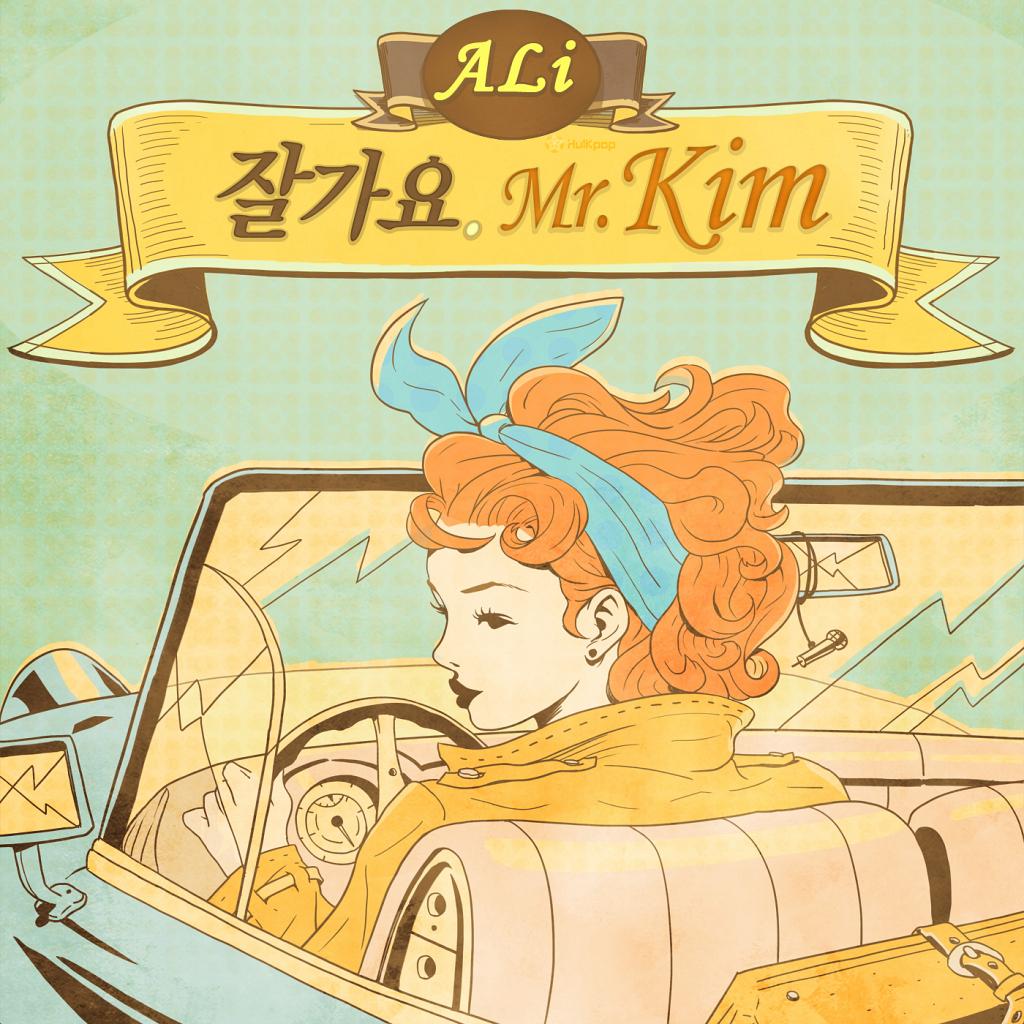 [Single] ALi – Goodbye Mr.Kim