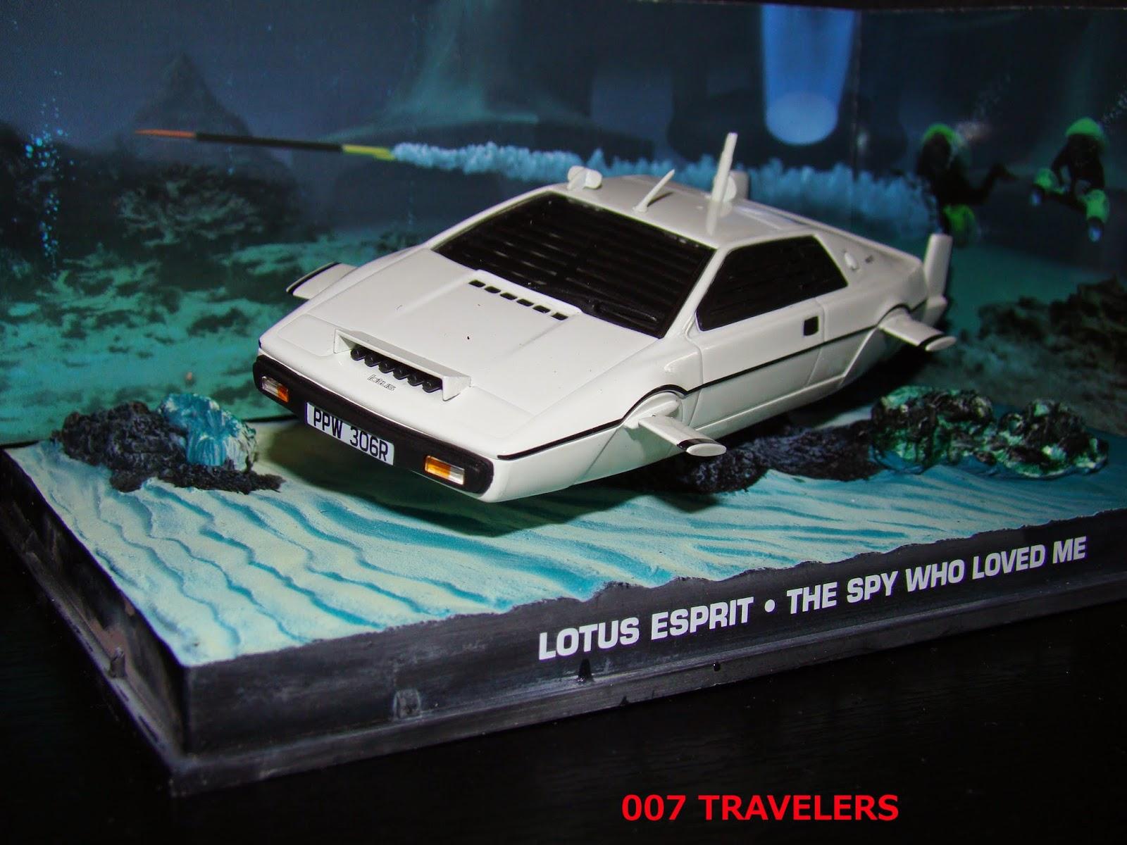 007 TRAVELERS: 007 Vehicle: Lotus Esprit / The Spy Who d Me (1977)