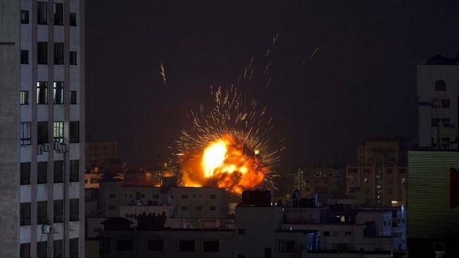 Lagi! Bangunan Penting di Gaza Ini Hancur Dibombardir Rudal Israel
