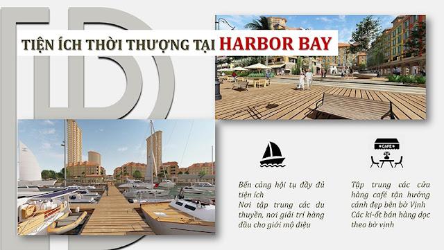 tiện ích shophouse harbor bay