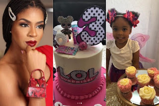 Venita Akpofure's  Daughter  Is 3