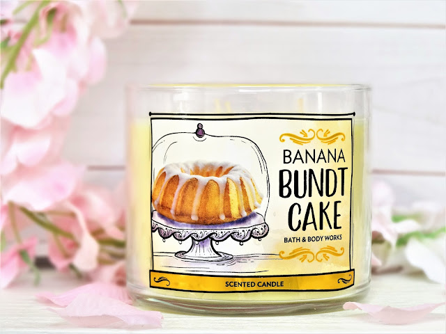 avis Banana Bundt Cake de Bath & Body Works, Banana Bundt Cake Bath & Body Works candle review