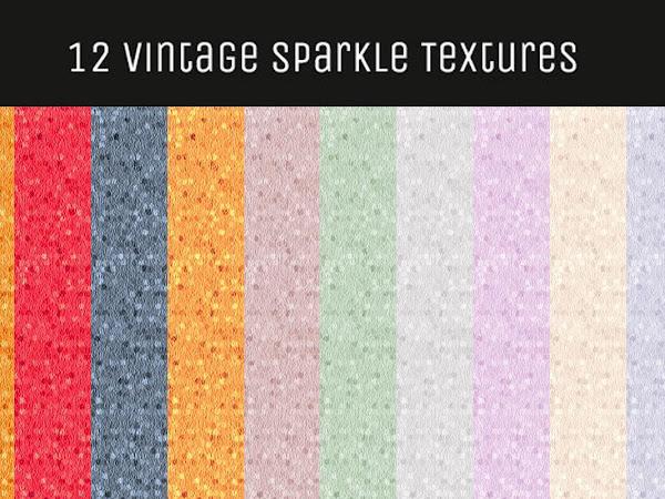 Download 12 Vintage Sparkle Textures Free