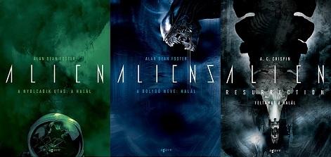 Alien regények