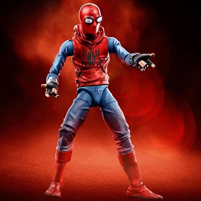 Primer traje de Spider-Man de Tom Holland