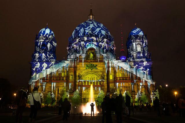 Lễ hội ánh sáng ở Berlin, Đức