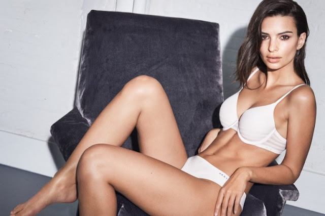Emily Ratajkowski Sizzles in DKNY Intimates Fall Latest Campaign