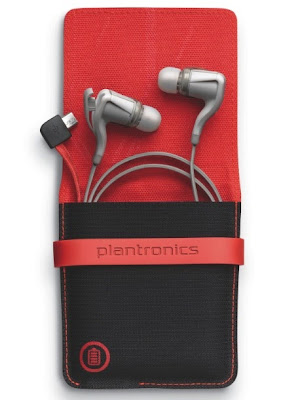 Plantronics BackBeat GO 2 Earbuds with Charging and Storage Case