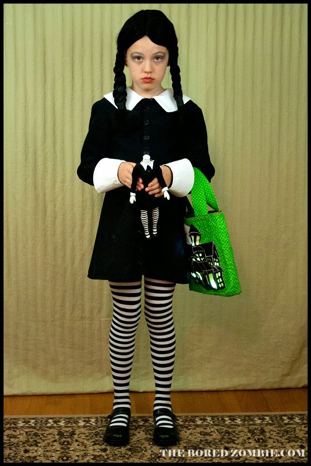 wednesday addams halloween costume live a colorful the name the bored 12152