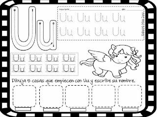 Ejercicios de sílabas para niños pdf