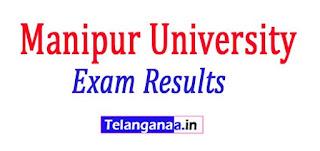 Manipur University BA B.Sc Results 2017