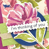 Stampin' Up! Fine Art Floral ~ Art Gallery Card ~ January-June 2021 Mini Catalog ~ www.juliedavison.com #stampinup