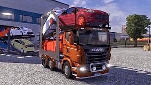 Scania R Cartransport