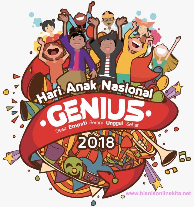 logo hari anak nasional 2018