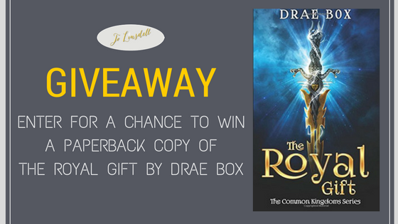 Book Giveaway: The Royal Gift by Drae Box #giveaway #books
