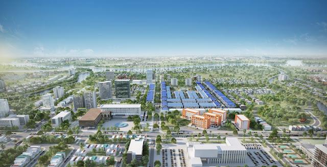 Phối cảnh dự án Khu đô thị mới An Bình - Cần Thơ
