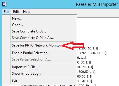 PRTG: Cómo importar MIB - Parte 2