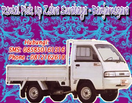 Sewa Pick Up Zebra Surabaya -  Banjarnegara