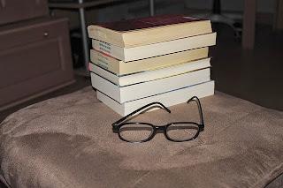 libros y lentes