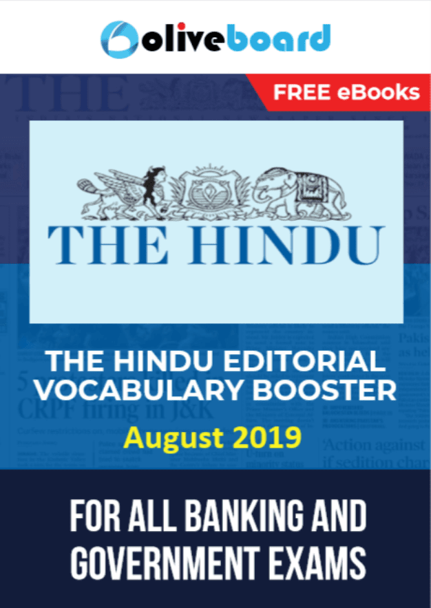 The-Hindu-Editorial-Vocabulary-Booster-August-2019-For-All-Competitive-Exam-PDF-Book