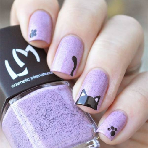 3 Fantasy nail art