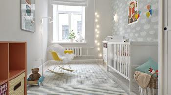 Cuidado con la habitación de los bebés