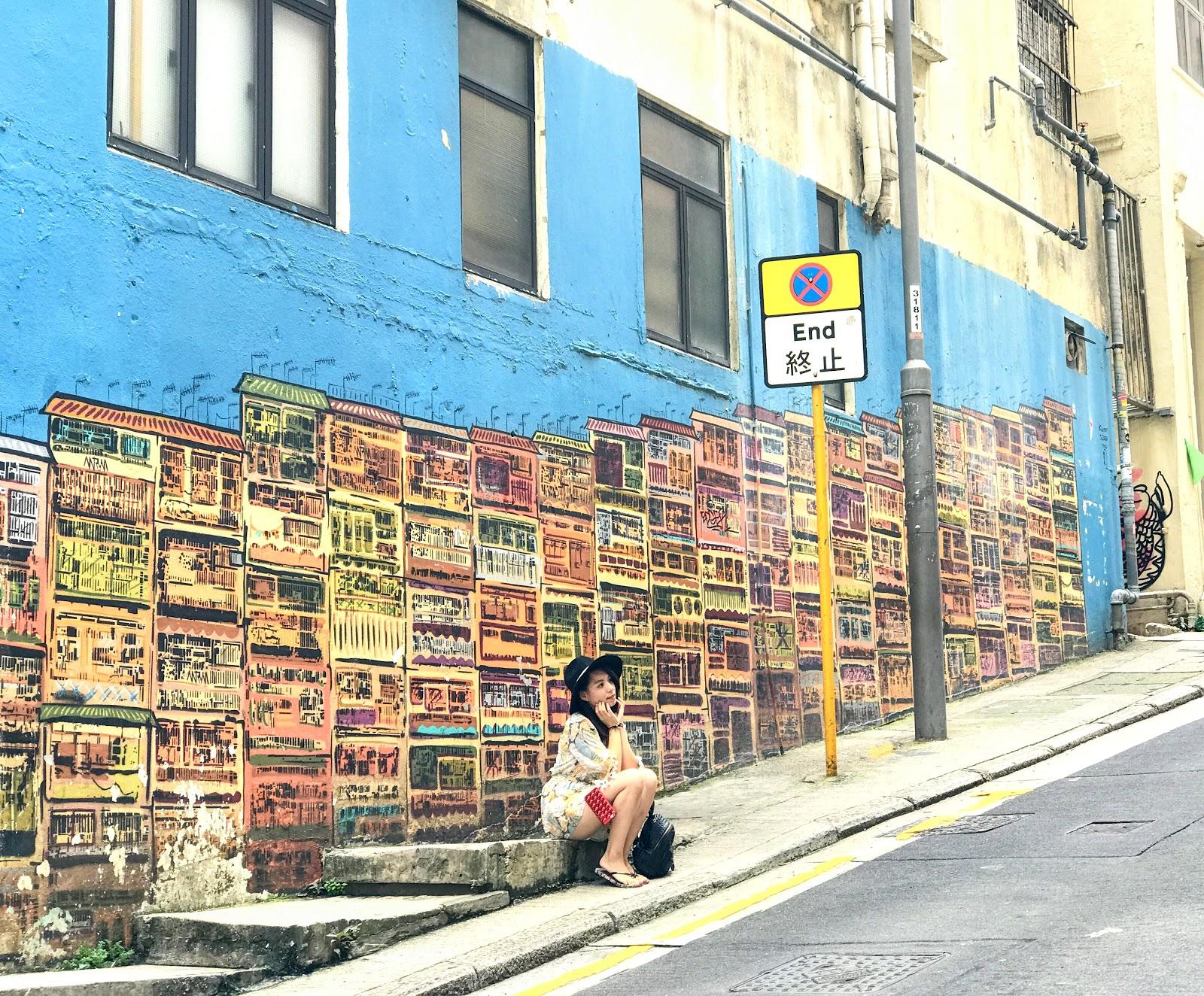 Aepert Images: 香港中環嘉咸街(壁畫) │ Aug.2017