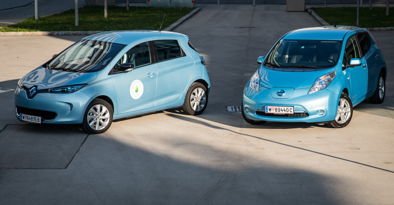 renault zoe vs nissan leaf die blauen. Black Bedroom Furniture Sets. Home Design Ideas