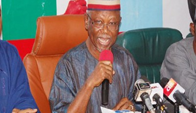 Fayose And Others Criticizing Buhari For His Foreign Trips Need Their Heads Examined - Oyegun
