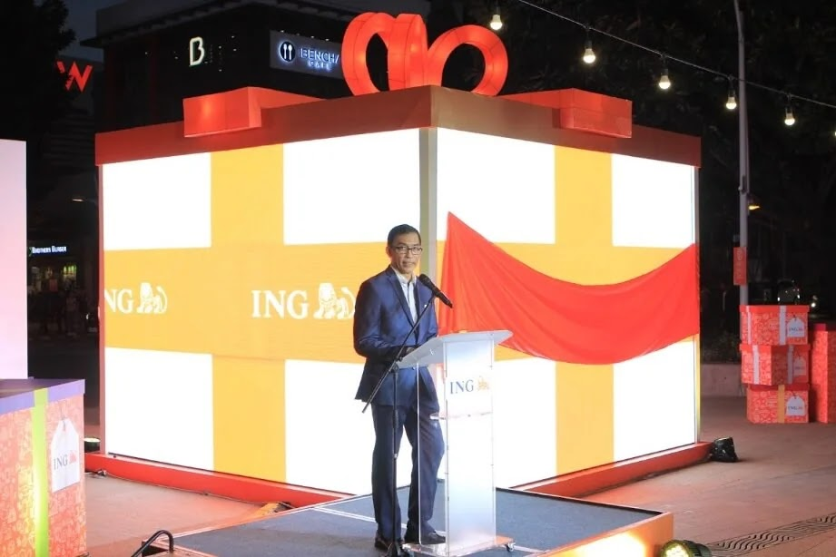 ING Bank celebrates Christmas with customers through a 'gift of savings'