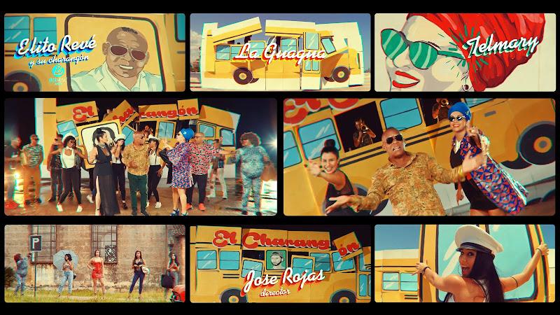 Elito Revé y su Charangón & Telmary - ¨La Guagua¨ - Videoclip - Director: Jose Rojas. Portal Del Vídeo Clip Cubano
