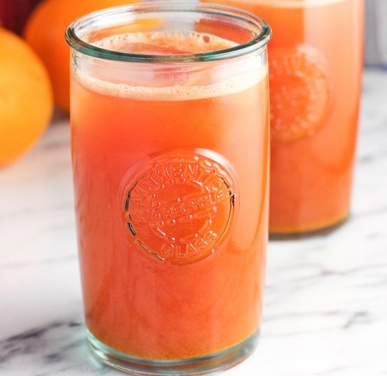 Watermelon Orange Ginger Turmeric Juice #drinks #fruit