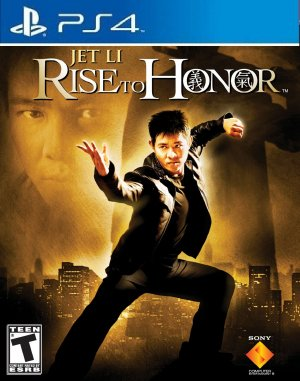 Jet Li Rise To Honor PS2 FOR PS4