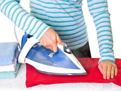 Instalaciones eléctricas residenciales - Planchando ropa