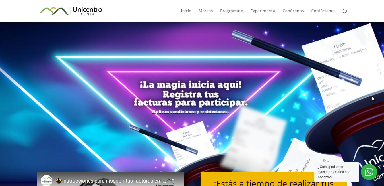 Promo Unicentro Tunja 2021