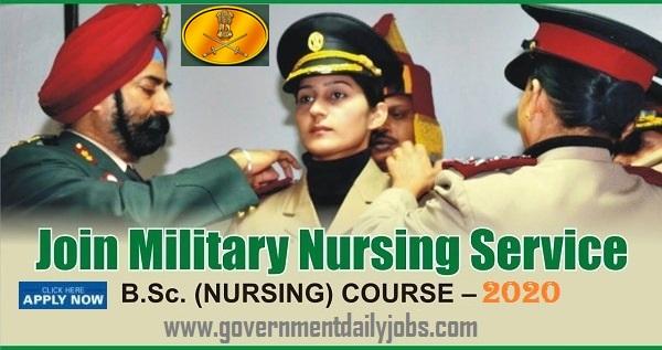 Indian Army Nursing Vacancy 2020