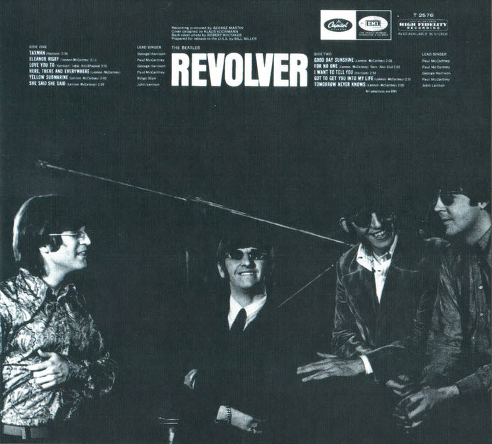 The Daily Beatle: Album covers: Revolver