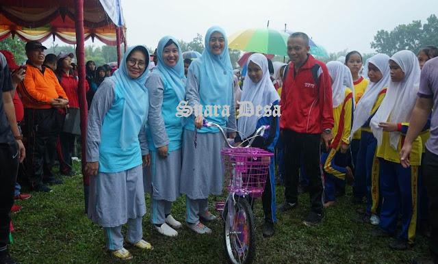 Diguyur Hujan, Perayaan Haornas Ke XXXVI Kabupaten Batubara Tetap Semarak